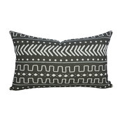 Mudcloth Pillow XI