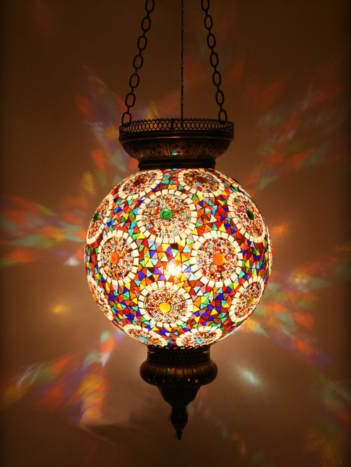 Turkish Style Mosaic Lighting
