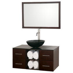 Best Modern Bathroom Vanities And Sink Consoles by Wyndham Collection