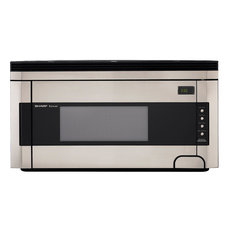 Over-the-Range Microwave Oven, Concealed Controls, Stainless