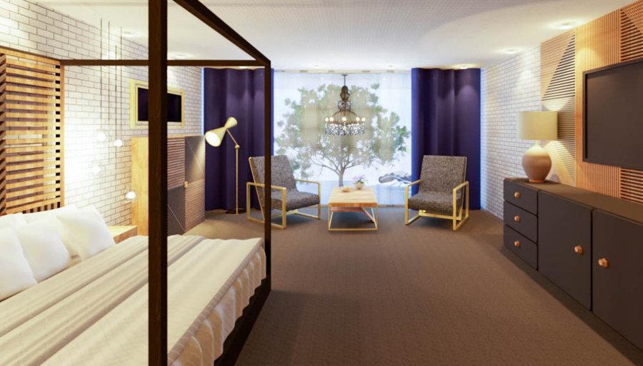 Hotel bedroom 2