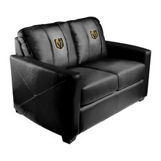 Vegas Golden Knights NHL Silver Love Seat