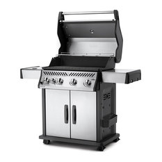 Rogue 525 Stainless Steel Gas Grill with Infrared Side Burner, Natural Gas