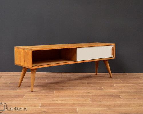Meuble TV / Enfilade Esprit Vintage #3 Clair Made In France