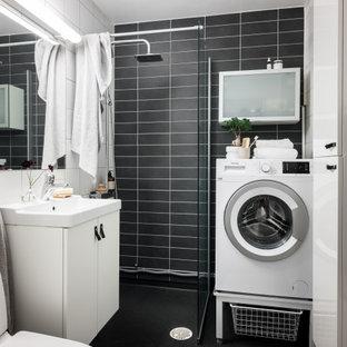 Idéer för ett skandinaviskt badrum