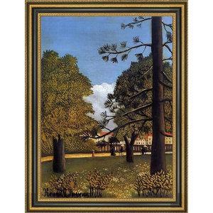Rousseau Quartet Happy Design Canvas Print Picture Painting Frame Home Furnishings