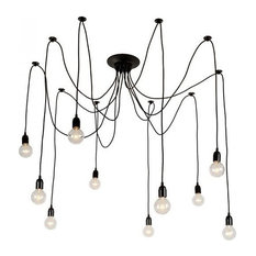 Trendy contemporary chandeliers for 2018 houzz light society tentacle chandelier chandeliers aloadofball Images