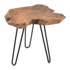 Restoration Root Lamp Table