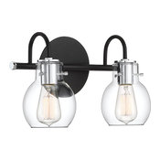 Andrews Bath Light, Earth Black, Small