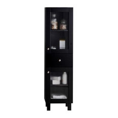 Everest Collection Espresso Side Cabinet