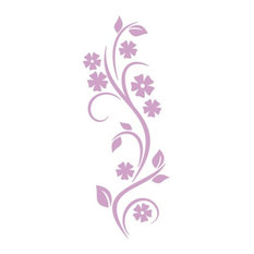 """Curling Vine Wall Decal, Lilac, 12""""x30"""""""