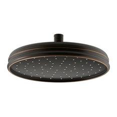"Kohler 10"" Round 2.5 GPM Rainhead, Oil-Rubbed Bronze"