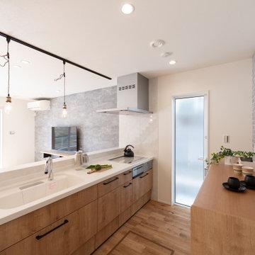 キッチンはLIXILアレスタを採用。機能・収納・デザイン、使い勝手のよいキッチンです。