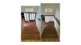 Before and after plus new construction