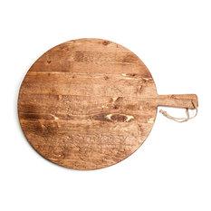 Pine Medium Round Pizza Board