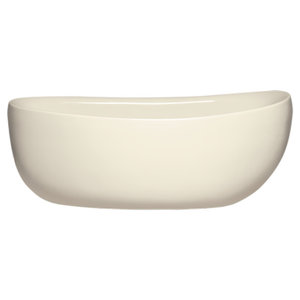 Contura 7232 Tub Only Matte Finish, Airbath 2 With Integral Drain, Biscuit