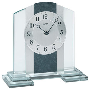 Daphne Table Clock, Granite