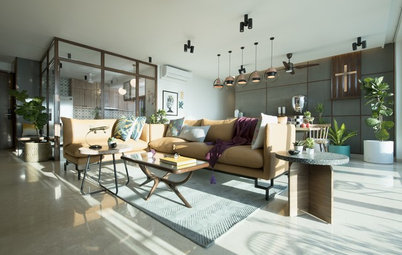 Mumbai Houzz: Sunlight Dwells in Every Corner of This Apartment