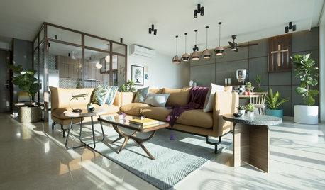 Mumbai Houzz: Sunlight Dwells in Every Corner of This Apartment