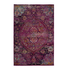 Safavieh Crystal CRS512S Fuchsia/Purple, 8'x10'