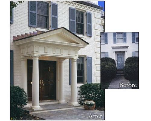 Before Photo. SaveEmail. Front Door Pillars