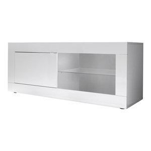 Dolcevita TV Stand, 140 cm, White Gloss