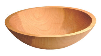 BOWLS ??? Rare Solid One-Piece Wood Bowls ??? Choice of Sizes