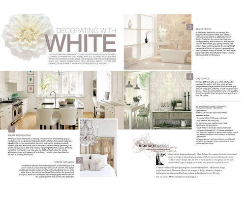 Save. Designing With White