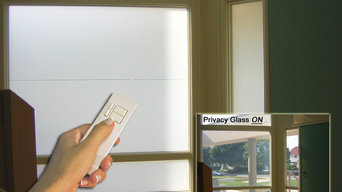 Switchable Privacy Glass Entry Way