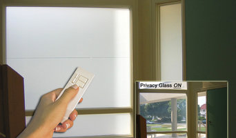 Switchable Privacy Glass front Entry Way