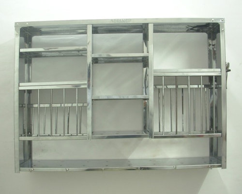 Huge Stainless Steel Plate Rack - Dish Racks : steel plate rack - pezcame.com