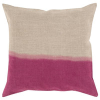 """Surya Dip Dyed DD-014 Modern Pillow, Square 18""""x18"""" Cover Only"""