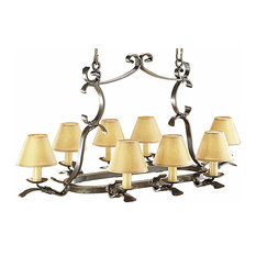 Acolman Wrought Iron Chandelier