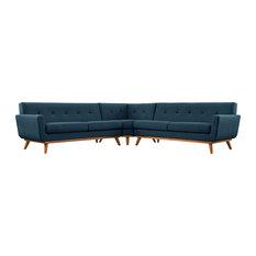 Azure Engage L-Shaped Sectional Sofa