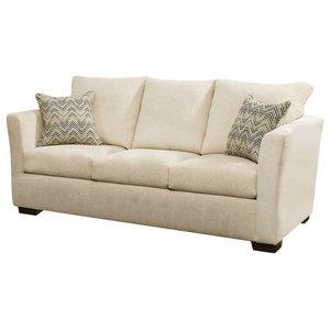 Simmons Upholstery Elan Linen Queen Sleeper Sofa