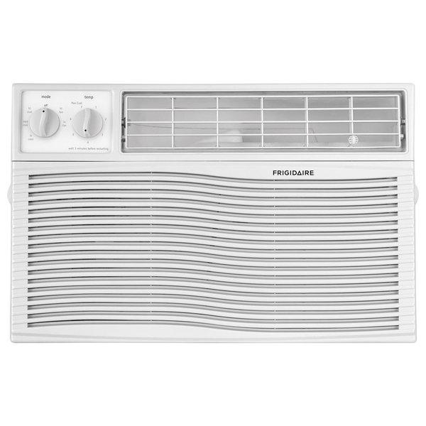 Window Air Conditioner, Mechanical Controls, 8000 BTU
