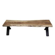 SoHo Cross Legged Dining Bench, Small