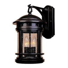 "Designers Fountain 2381-ORB 9"" Wall Lantern"