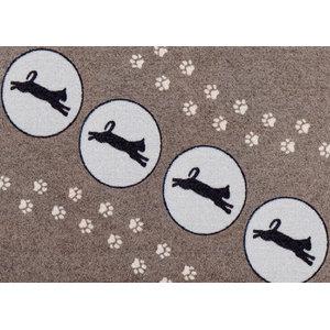 Clean Keeper Jumping Cats Doormat