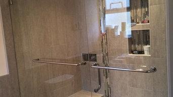 Shower door & Side lite