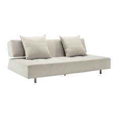 Long Horn Deluxe Sofa Bed, Mixed Dance Natural