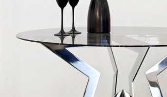 STAR.K COFFEETABLE POLISHED STAINLESS STEEL