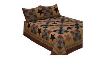 Prairie Star Quilt Set, Queen