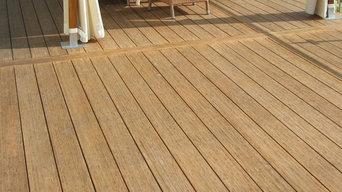 Bambus terrassebrædder