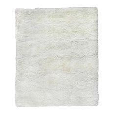 Sheepskin Rug, Ivory, 9.6'x13.6'