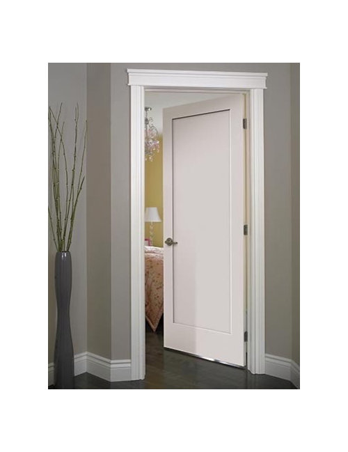 We Are Going To Use The Door In Picture With A Simpler Trim And Similar White Paint