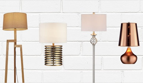 Floor and Table Lamps From $41