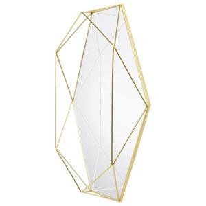 Umbra Prisma Mirror, Brass