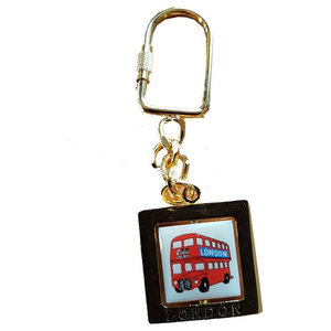 London Routemaster Bus Key Ring