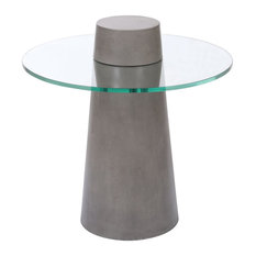 Benajah Cone Accent Table